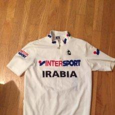 Coleccionismo deportivo: MAILLOT CICLISTA ETXE ONDO INTERSPORT IRABIA. Lote 101935119