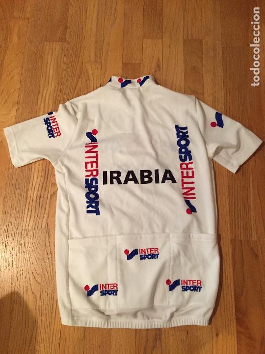 Coleccionismo deportivo: MAILLOT CICLISTA ETXE ONDO INTERSPORT IRABIA - Foto 2 - 101935119
