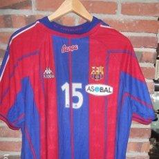 Coleccionismo deportivo: KAPPA MATCH WORN DE FERNANDO BARBEITO ORIGINAL DE JUGADOR BALONMANO AÑOS 90 TALLA YL.MUY BUEN ESTADO. Lote 107143699
