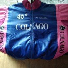 Coleccionismo deportivo: MAILLOT POLAR COLNAGO CICLISMO. Lote 109063435