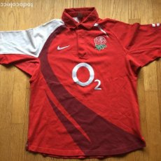 Coleccionismo deportivo: CAMISETA RUGBY INGLATERRA 2007 2009. Lote 109171191