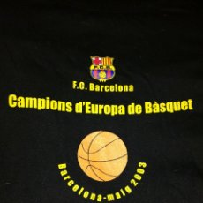 Coleccionismo deportivo: CAMISETA BÁSQUET F.C.BARCELONA. Lote 112158548