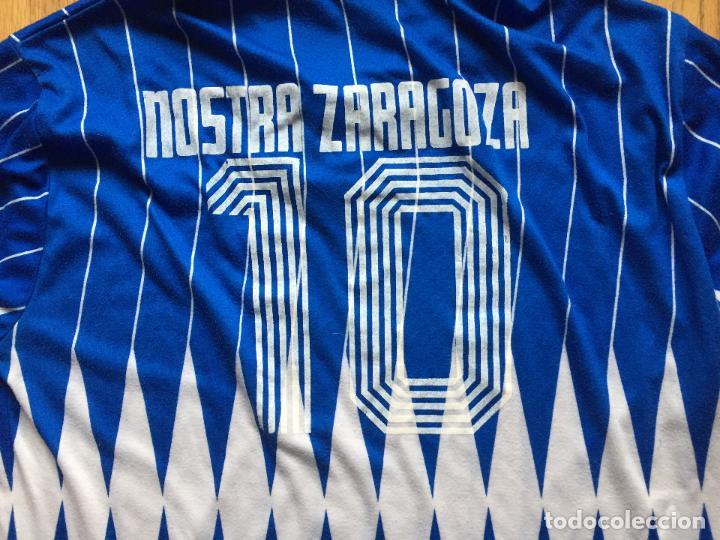 Coleccionismo deportivo: CAMISETA VINTAGE BEMISER NOSTRA ZARAGOZA - Foto 2 - 113770335