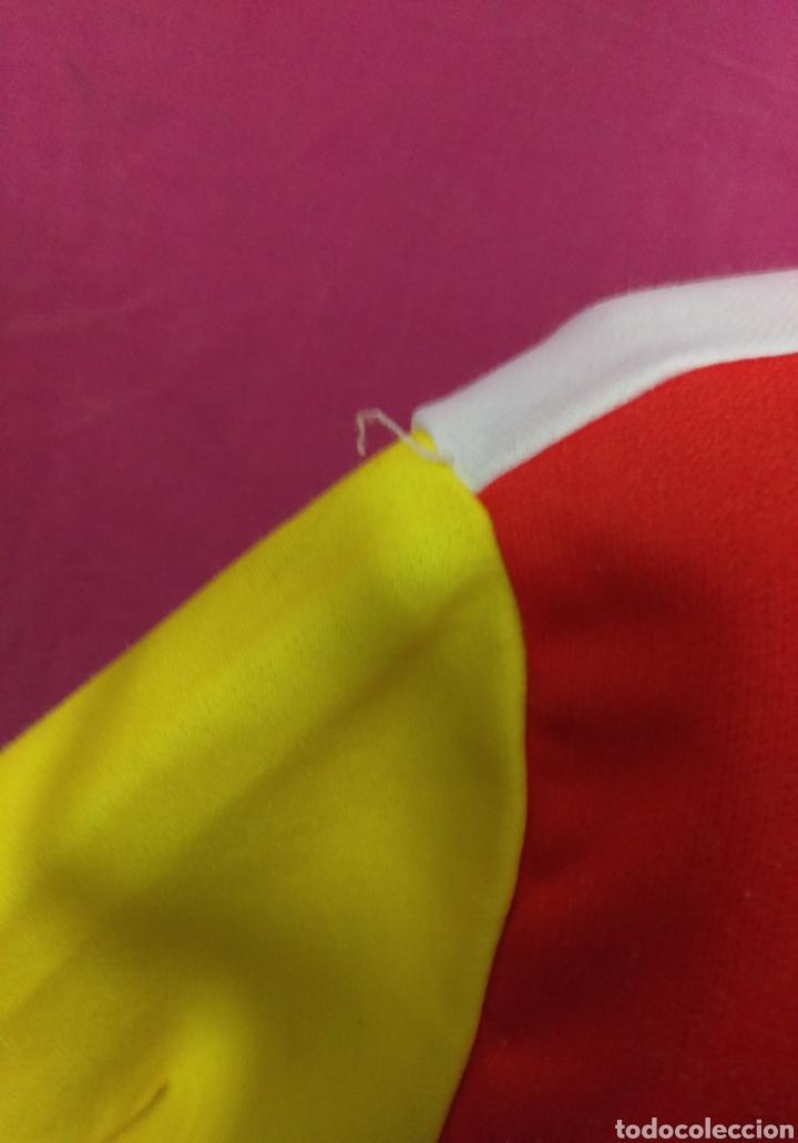 Coleccionismo deportivo: Camiseta maillot ciclista original vintage TOSHIBA LE PARISIEN TOUR DE FRANCE talla L - Foto 5 - 113953959