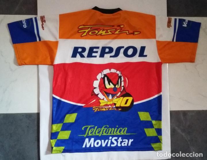 Coleccionismo deportivo: CAMISETA CICLISMO DARING PUBLICIDAD TELEFONICA REPSOL - Foto 2 - 114255427
