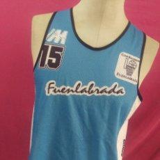Coleccionismo deportivo: CAMISETA BALONCESTO BASKET ORIGINAL MONVER FUENLABRADA. Lote 118556631