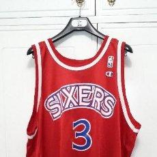 Coleccionismo deportivo: CAMISETA CHAMPION NBA ALLEN IVERSON PHILADEPLHIA 76ERS. Lote 118707359
