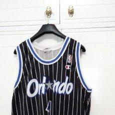 Coleccionismo deportivo: CAMISETA CHAMPION NBA ANFERNEE HARDAWAY ORLANDO MAGICS. Lote 118713835