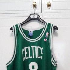 Coleccionismo deportivo: CAMISETA CHAMPION NBA ANTOINE WALKER BOSTON CELTICS. Lote 118742627