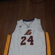 Coleccionismo deportivo: CAMISETA ADIDAS NBA KOBE BRYANT LOS ANGELES LAKERS. Lote 118752711