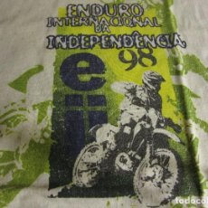 Coleccionismo deportivo: CAMISETA ENDURO INTERNACIONAL DA INDEPENDENCIA 98 BRASIL TALLA M. Lote 122028147