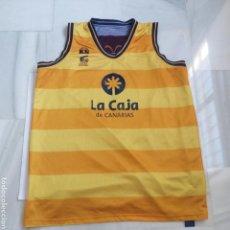 Coleccionismo deportivo: CAMISETA BALONCESTO BASKET GRAN CANARIA REVERSIBLE MARCA KS TALLA 4XL. Lote 122921116
