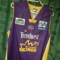 Coleccionismo deportivo: SYDNEY AUSTRALIA KINGS 2XL BASKET BASQUET SHIRT CAMISETA BAKETBALL. Lote 124910475