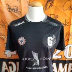 Coleccionismo deportivo: CAMISETA BALONMANO TSV MILDSTEDT BULLS HUMMEL GERMANY. Lote 125214211