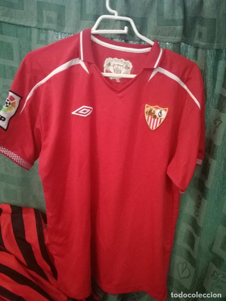 Camiseta Sevilla FC J. Navas