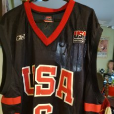 Coleccionismo deportivo: CAMISETA OFICIAL USA BASKETBALL. NÚMERO 6. TRACY MCGRADY. TALLA L. BALONCESTO. NBA. Lote 126325131