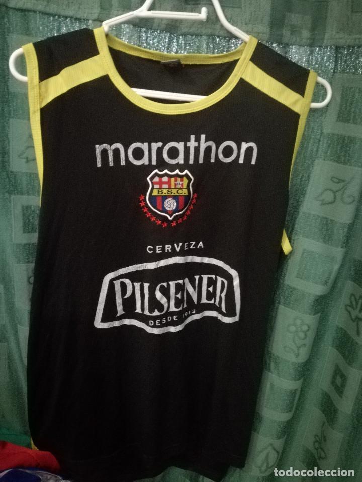 meet eebe6 b278c Guayaquil barcelona ecuador m camiseta futbol - Sold through ...