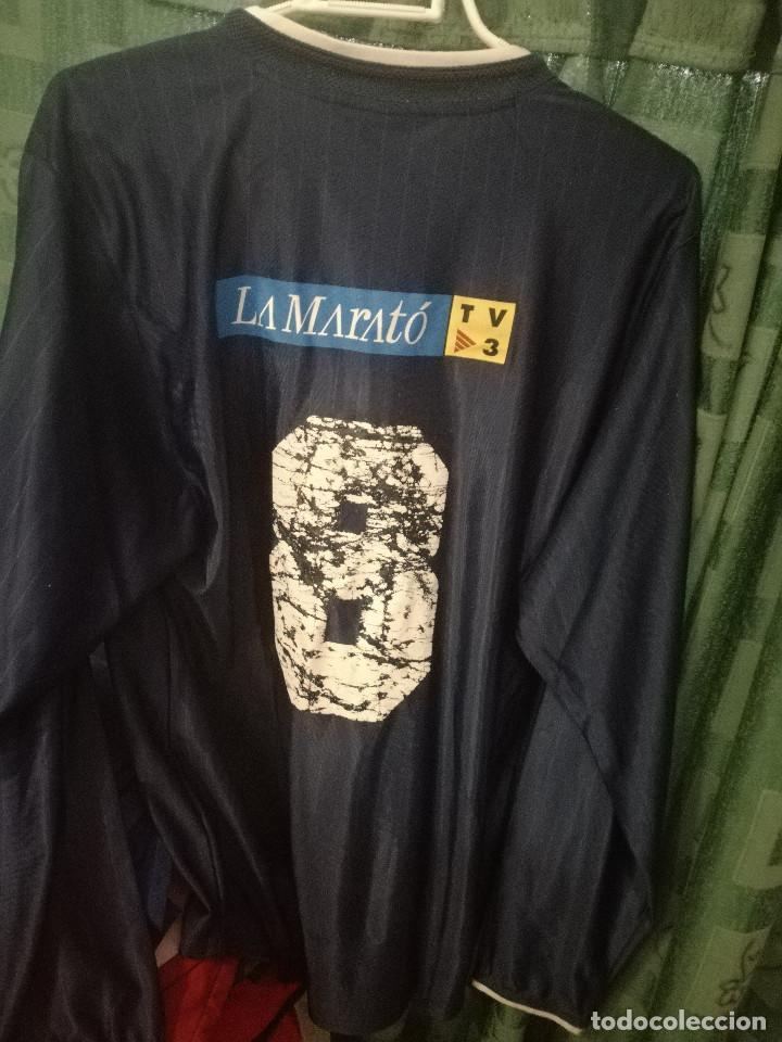 d48ac900a87 Coleccionismo deportivo  FORUM SAMITIER MATCH WORN FC BARCELONA MATCH L  camiseta futbol football shirt -