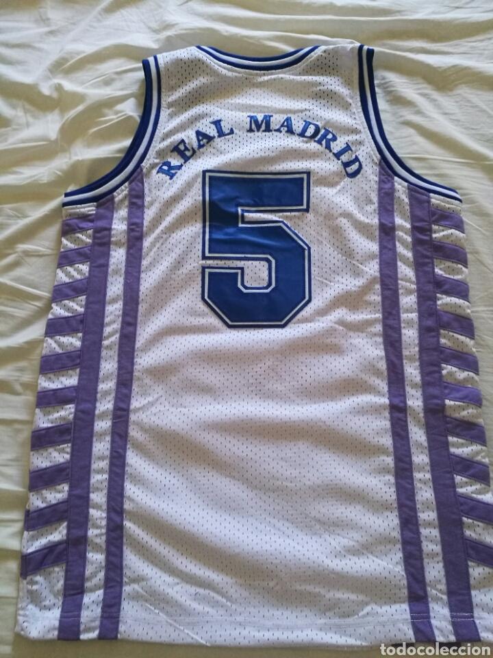 72a1ee743 Coleccionismo deportivo  Camiseta baloncesto Drazen Petrovic Real Madrid -  Foto 2 - 126785151