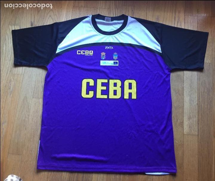 CAMISETA CEBA GUADALAJARA, LEB PLATA BALONCESTO (Coleccionismo Deportivo - Ropa y Complementos - Camisetas otros Deportes)