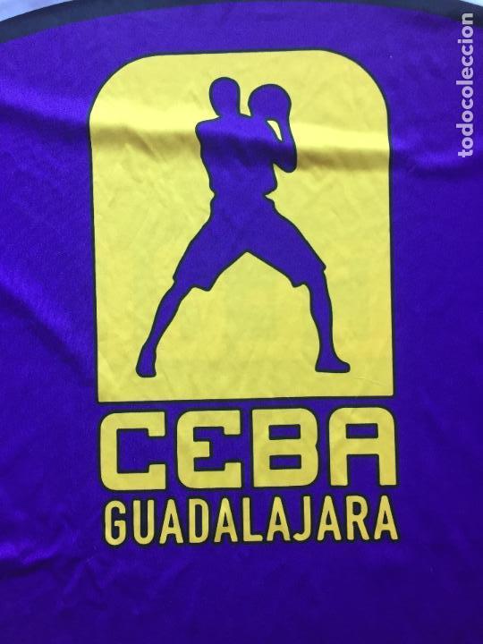 Coleccionismo deportivo: CAMISETA CEBA GUADALAJARA, LEB PLATA BALONCESTO - Foto 2 - 126871019