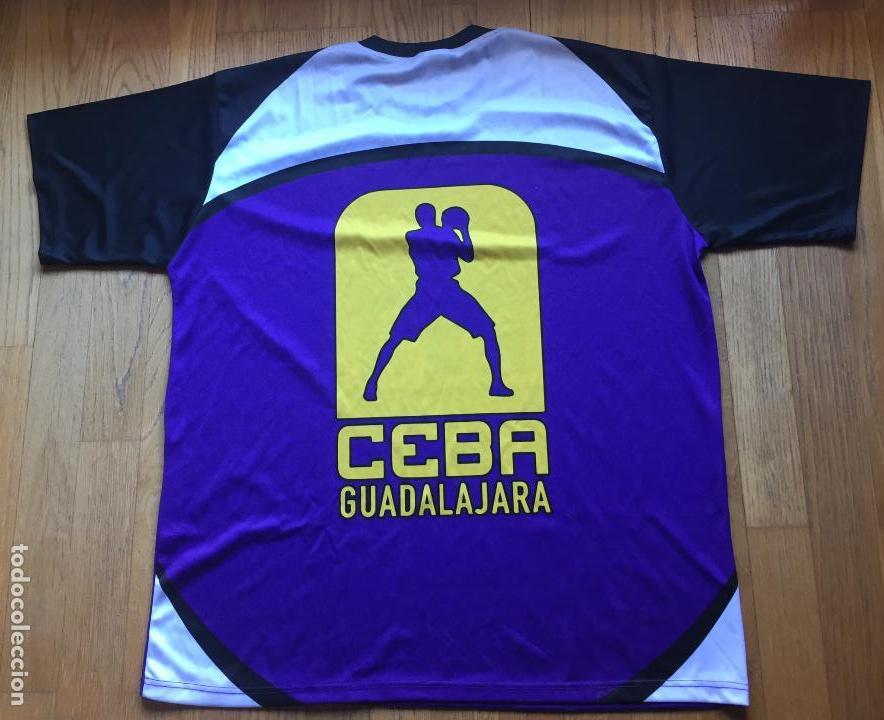 Coleccionismo deportivo: CAMISETA CEBA GUADALAJARA, LEB PLATA BALONCESTO - Foto 4 - 126871019