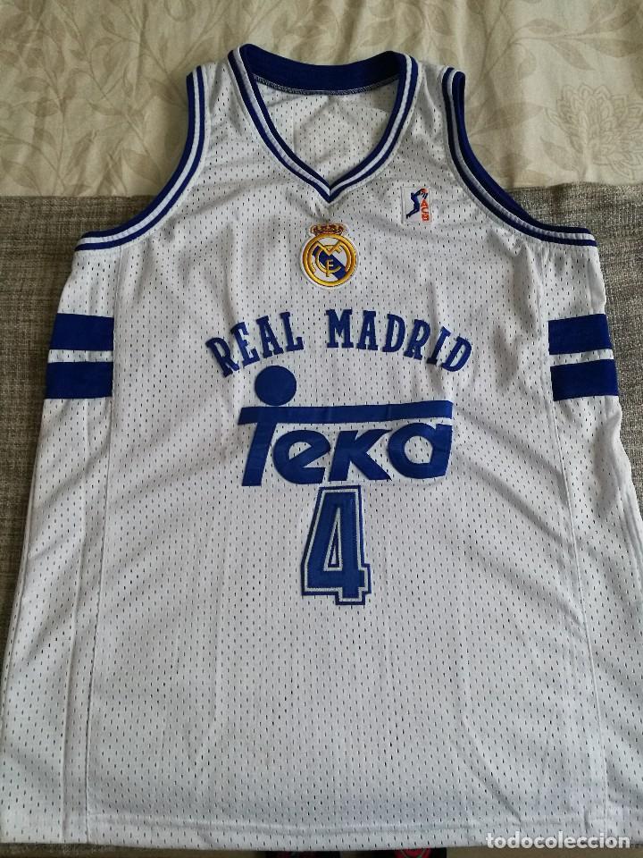10bdffddeae 2 fotos CAMISETA DEJAN BODIROGA REAL MADRID BASKET (Coleccionismo Deportivo  - Ropa y Complementos - Camisetas otros ...