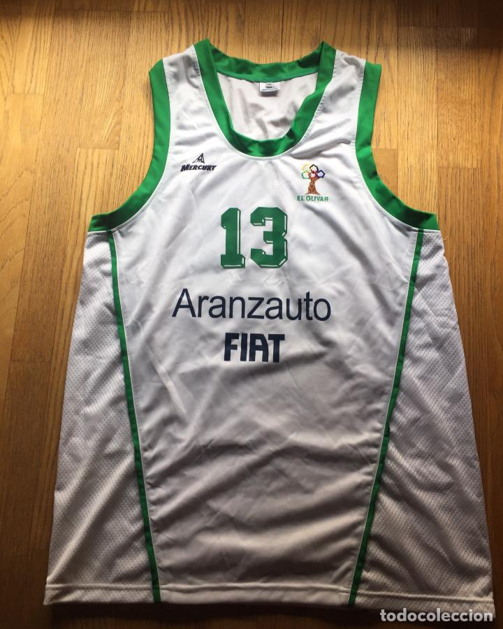 CAMISETA EL OLIVAR, LIGA EBA (Coleccionismo Deportivo - Ropa y Complementos - Camisetas otros Deportes)