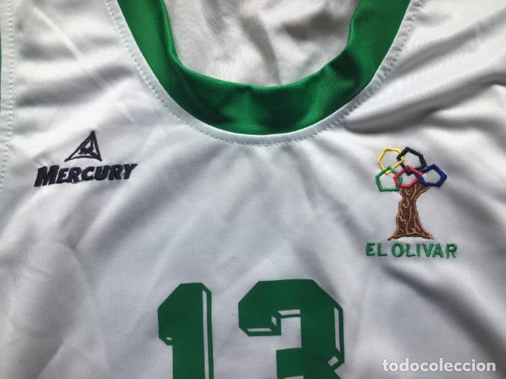 Coleccionismo deportivo: CAMISETA EL OLIVAR, Liga EBA - Foto 3 - 128049799
