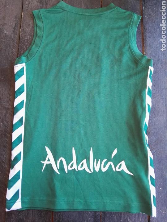 Coleccionismo deportivo: Camiseta unicaja baloncesto niño hummels - Foto 2 - 129265382