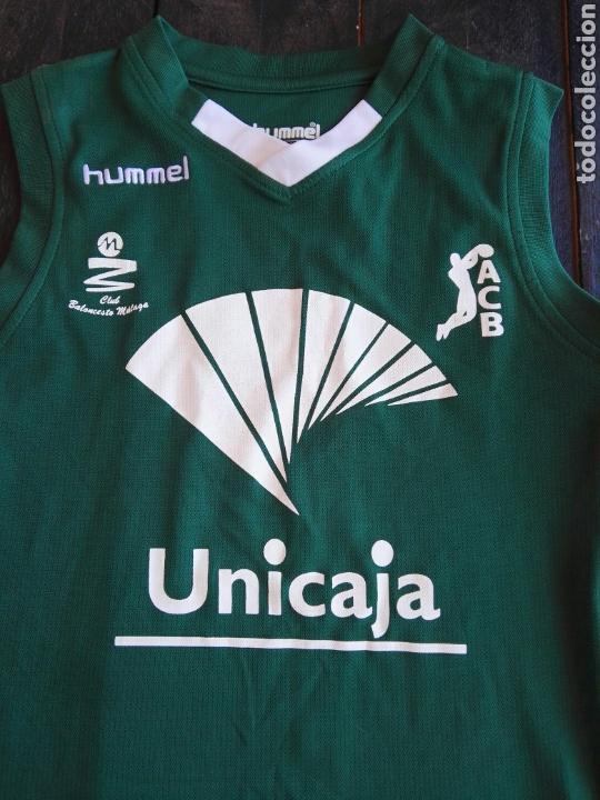 Coleccionismo deportivo: Camiseta unicaja baloncesto niño hummels - Foto 3 - 129265382