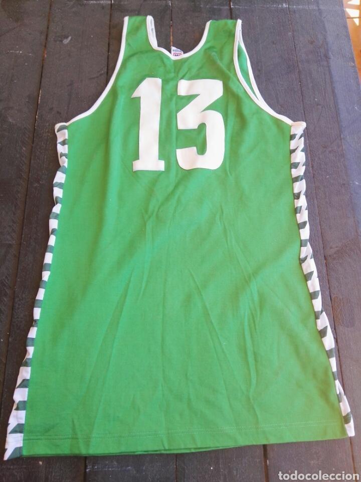 Coleccionismo deportivo: Camiseta baloncesto Meyba antigua - Foto 2 - 129269178