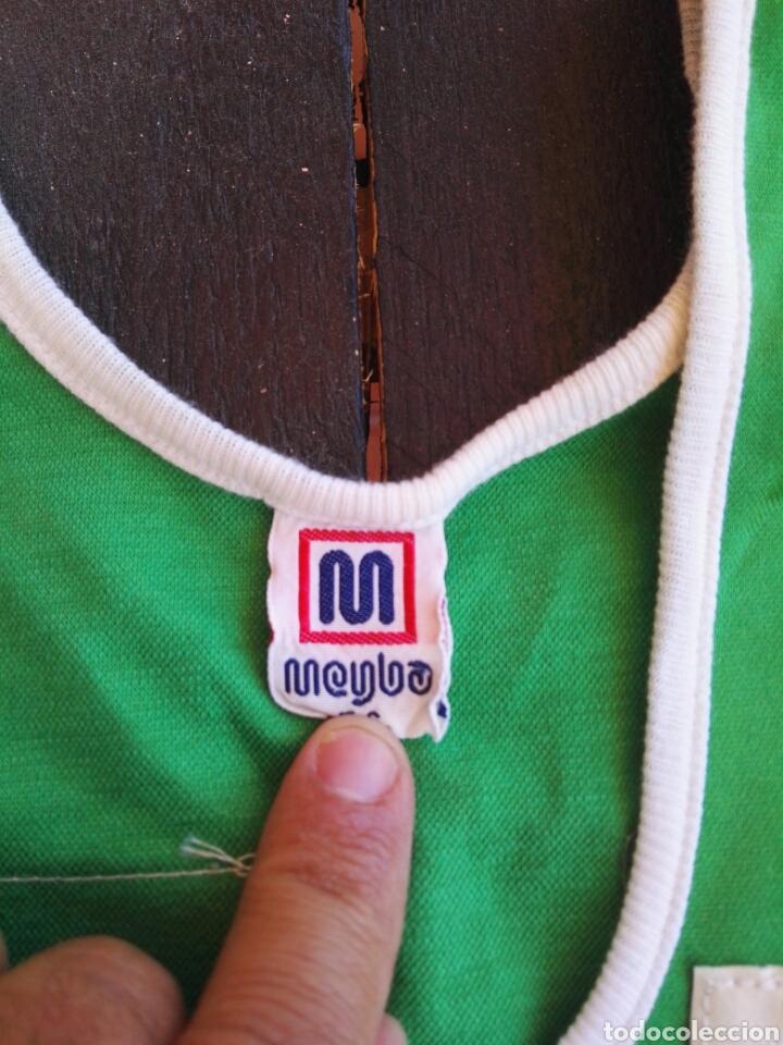 Coleccionismo deportivo: Camiseta baloncesto Meyba antigua - Foto 3 - 129269178