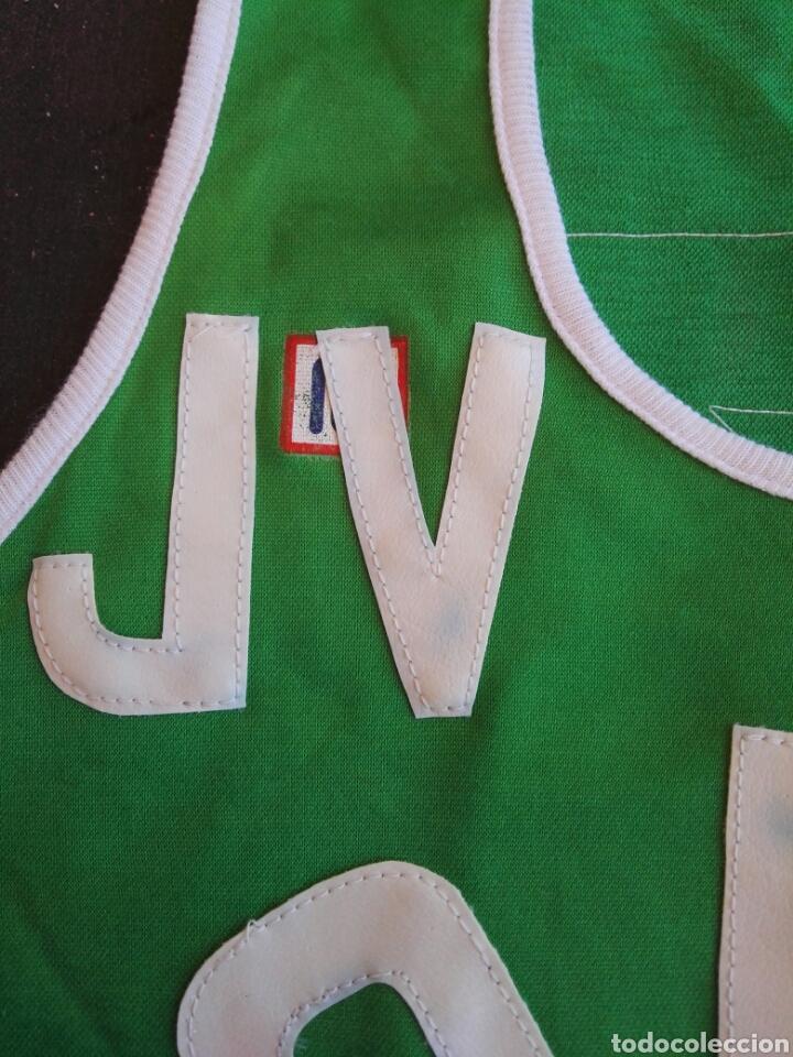 Coleccionismo deportivo: Camiseta baloncesto Meyba antigua - Foto 5 - 129269178