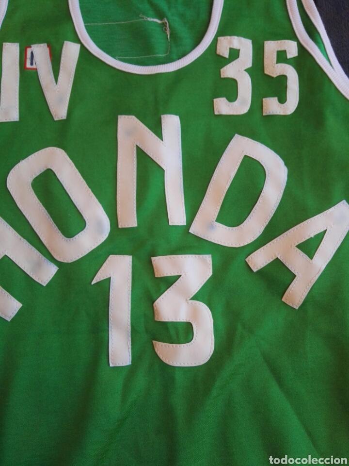 Coleccionismo deportivo: Camiseta baloncesto Meyba antigua - Foto 6 - 129269178