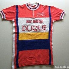 Coleccionismo deportivo: MAILLOT DE LANA VINTAGE. Lote 130903924