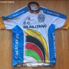 Coleccionismo deportivo: MAILLOT CLUB CICLISTA BILBILITANO VINTAGE. Lote 131181700