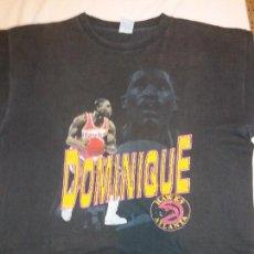 Coleccionismo deportivo: CAMISETA DOMINIQUE WILKINS NBA ATLANTA HAWKS OFICIAL ÚNICA SPALDING. Lote 132857646