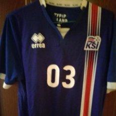 Coleccionismo deportivo: ICELAND ISLANDIA L CAMISETA FUTBOL FOOTBALL SHIRT FUSSBALL . Lote 133373114