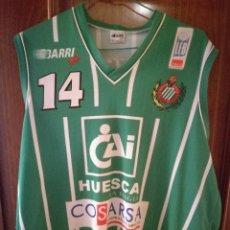 Coleccionismo deportivo: PEÑAS HUESCA MAGIA BASQUET BASKET MATCH WORN PRAT 2XL CAMISETA FUTBOL FOOTBALL SHIRT FUSSBALL TRIKOT. Lote 133375146