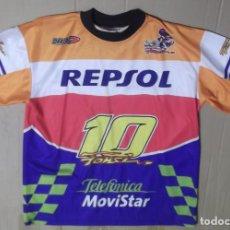 Coleccionismo deportivo - camiseta ORIGINAL DARING FONSI NIETO MOTO GP REPSOL - 134822626
