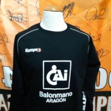 Coleccionismo deportivo: SUDADERA BALONMANO CAI BALONMANO ARAGON KEMPA. Lote 136681710