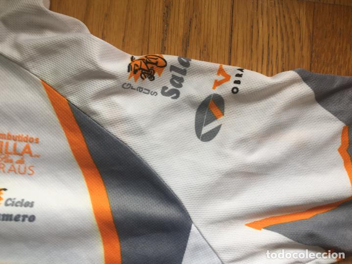 Coleccionismo deportivo: MAILLOT CICLISTA VINTAGE CLUB CICLISTA GRAUS - Foto 6 - 136805070