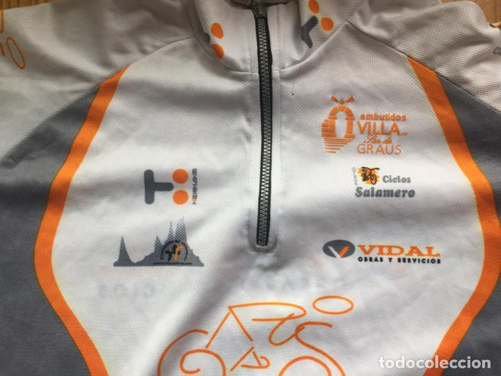 Coleccionismo deportivo: MAILLOT CICLISTA VINTAGE CLUB CICLISTA GRAUS - Foto 7 - 136805070