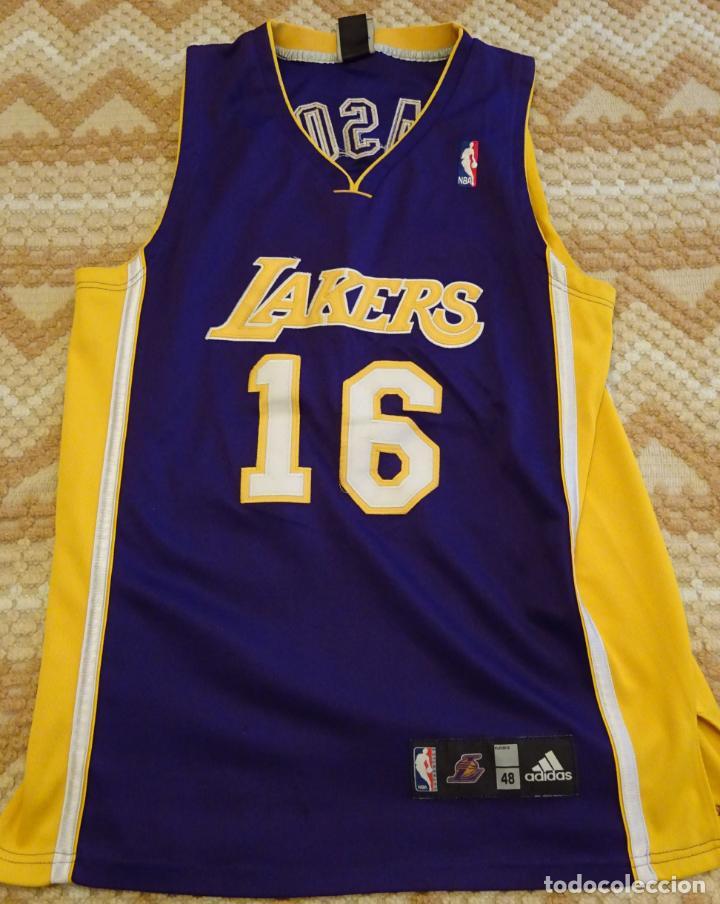 Notable siete y media Escarpa  Camiseta de baloncesto. nba los ángeles lakers. - Sold through Direct Sale  - 138725242