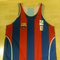 Coleccionismo deportivo: CAMISETA FC BARCELONA BALONCESTO CONMEMORATIVA EUROLIGA 2003. Lote 139224432