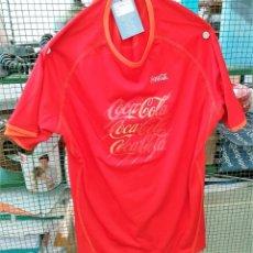 Coleccionismo deportivo: CAMISETA DE COCA COLA. TELA DE NYLON. TALLA L. Lote 139246890