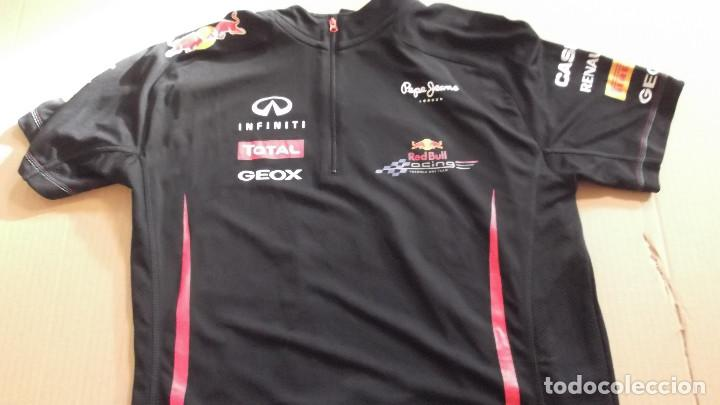 Camiseta original oficial team red bull racing formula pepe jeans total  infinity pirelli coleccionismo jpg 720x405 aa4055dfa3a