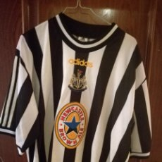 Coleccionismo deportivo: ALAN SHEARER NEWCASTLE LEGEND XL CAMISETA FUTBOL FOOTBALL SHIRT TRIKOT FUSSBALL . Lote 139714826