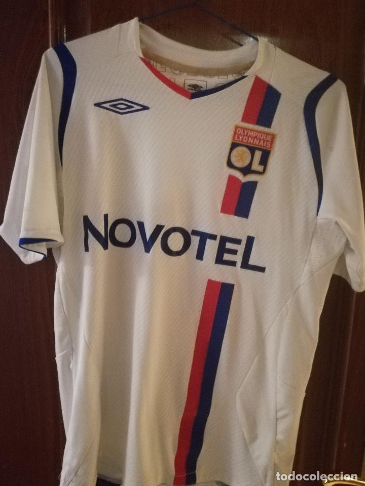 best sneakers 112cc fb819 Olympique lyonnays lyon benzema s camiseta futb - Sold ...